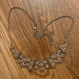 Brown costume jewelry necklace